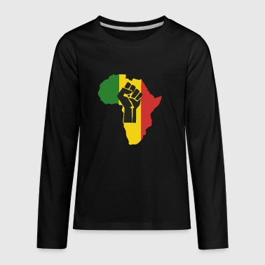 African Power - Kids' Premium Long Sleeve T-Shirt