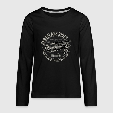 AEROPLANE - Kids' Premium Long Sleeve T-Shirt