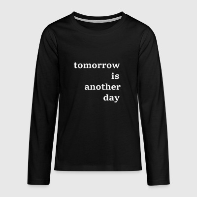 after all - Kids' Premium Long Sleeve T-Shirt