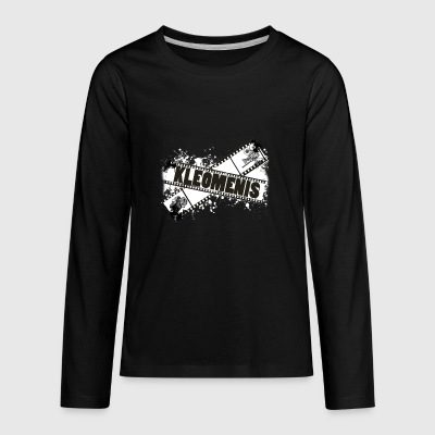 Photography Logotype - Kids' Premium Long Sleeve T-Shirt