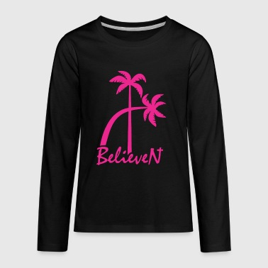 BelieveN pink - Kids' Premium Long Sleeve T-Shirt