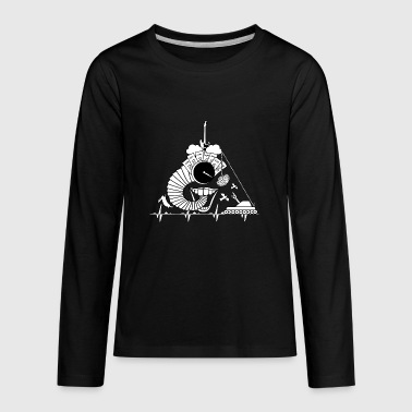 DarkSideOfTiMe - Kids' Premium Long Sleeve T-Shirt