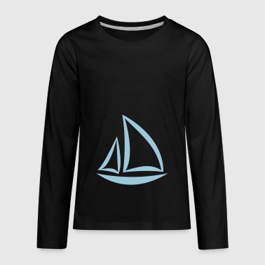 sailing - Kids' Premium Long Sleeve T-Shirt