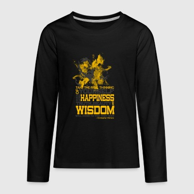 Happiness and Wisdom - Kids' Premium Long Sleeve T-Shirt