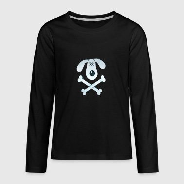 DOG BONE - Kids' Premium Long Sleeve T-Shirt