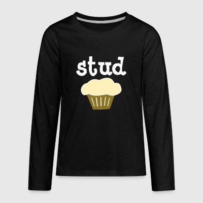 Stud Muffin - Kids' Premium Long Sleeve T-Shirt