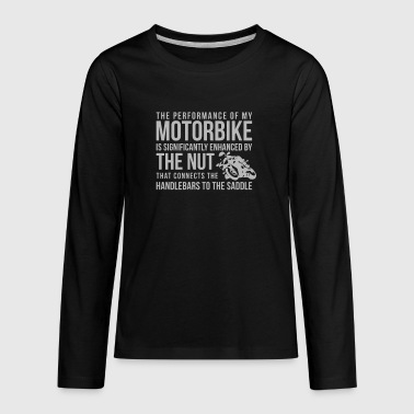 Handlebars To The Saddle - Kids' Premium Long Sleeve T-Shirt