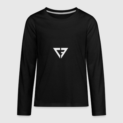 cf_logo_-2- - Kids' Premium Long Sleeve T-Shirt