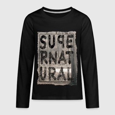 supernatural - Kids' Premium Long Sleeve T-Shirt