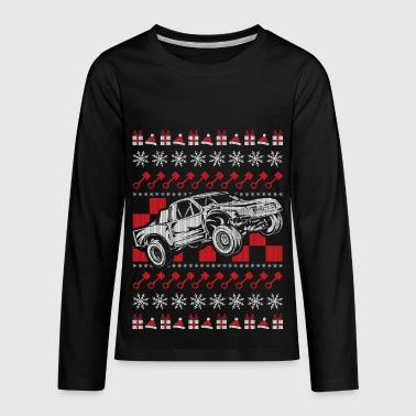 Pro Race Truck Christmas - Kids' Premium Long Sleeve T-Shirt