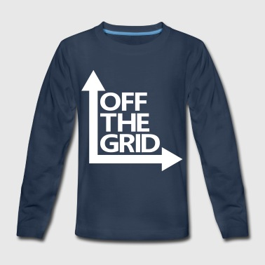 OFF THE GRID - Kids' Premium Long Sleeve T-Shirt