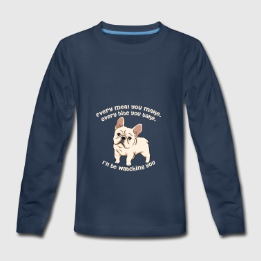 Franch bulldog - Kids' Premium Long Sleeve T-Shirt