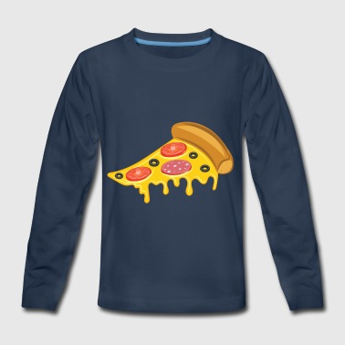 Italian Pizza - Kids' Premium Long Sleeve T-Shirt