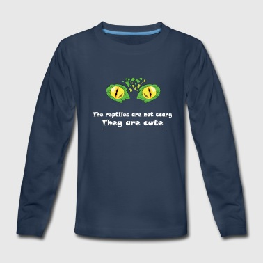 Eye Reptile! The reptile are not scary - Kids' Premium Long Sleeve T-Shirt