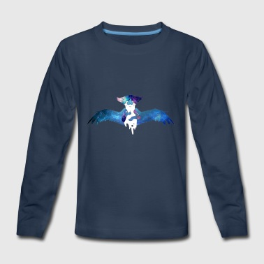 Galaxy Cat - Kids' Premium Long Sleeve T-Shirt