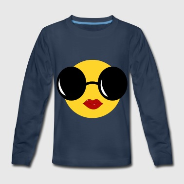 emojii Girl - Kids' Premium Long Sleeve T-Shirt