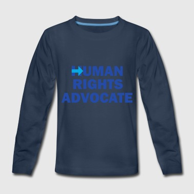 Human-Rights-Advocate - Kids' Premium Long Sleeve T-Shirt