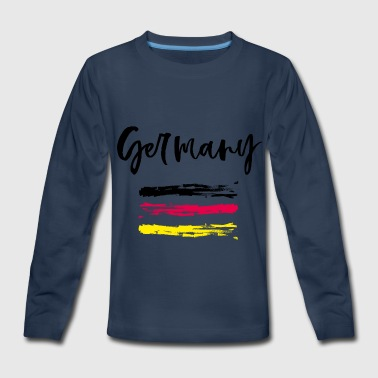 Germany - Fanshirt - Kids' Premium Long Sleeve T-Shirt
