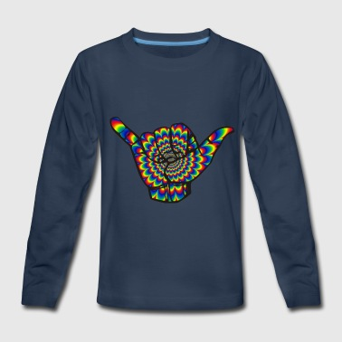 psychedelic - Kids' Premium Long Sleeve T-Shirt