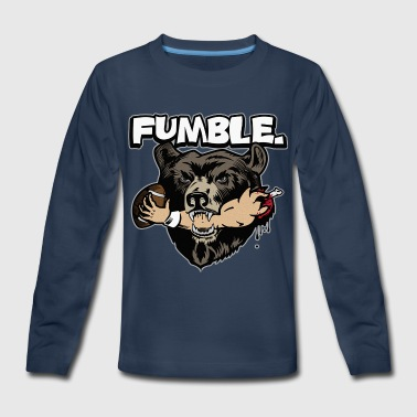 Fumble - Kids' Premium Long Sleeve T-Shirt