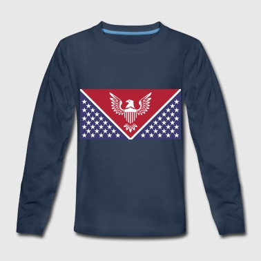 God-emperor The New Flag of the God Emperor Trump - Kids' Premium Long Sleeve T-Shirt