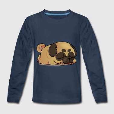Funny pug cartoon collection 3 - Kids' Premium Long Sleeve T-Shirt