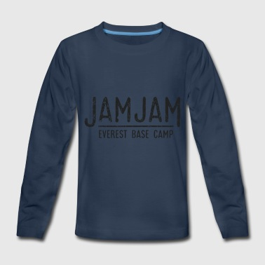 Jam Jam - Everest Base Camp - Kids' Premium Long Sleeve T-Shirt