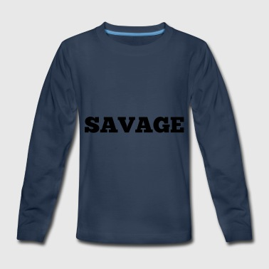Kids savage merchandise - Kids' Premium Long Sleeve T-Shirt