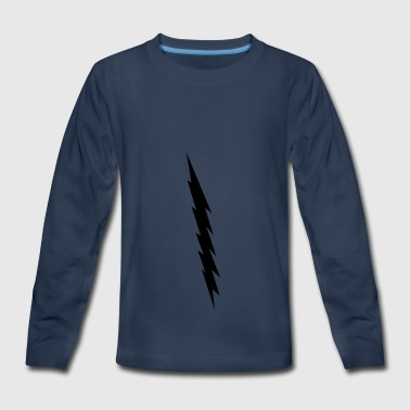 Black Lighting - Kids' Premium Long Sleeve T-Shirt