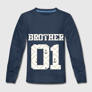 Combi Brother 01 Brothers For Life Combi Friends Shirt - Kids' Premium Long Sleeve T-Shirt