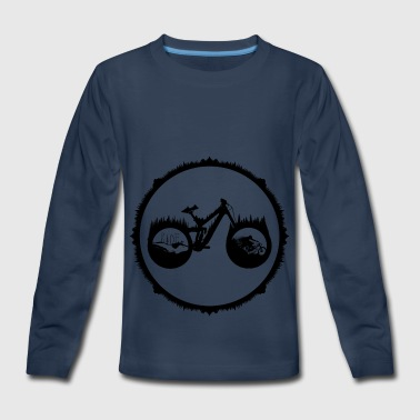 Trek - Kids' Premium Long Sleeve T-Shirt