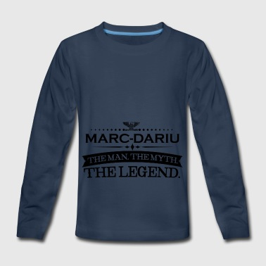 Mann mythos legende geschenk Marc Darius - Kids' Premium Long Sleeve T-Shirt
