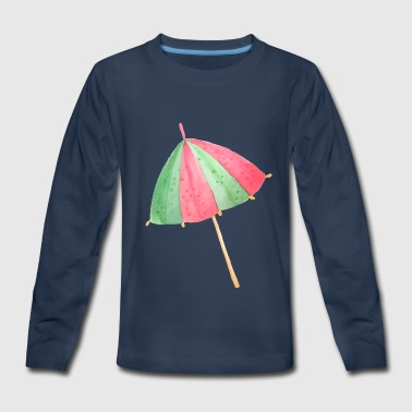 Beach Umbrella - Kids' Premium Long Sleeve T-Shirt