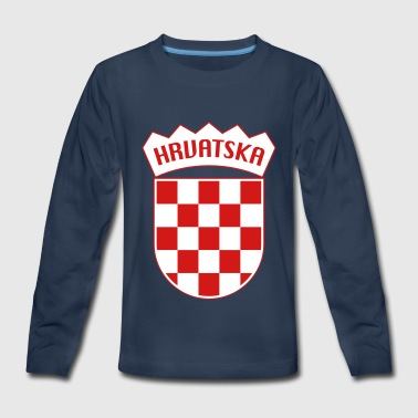 Hrvatska Croatia - Kids' Premium Long Sleeve T-Shirt