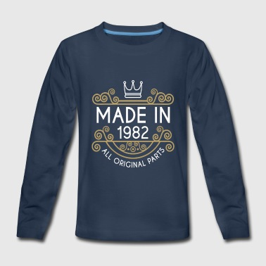 Made In 1982 All Original Parts - Kids' Premium Long Sleeve T-Shirt