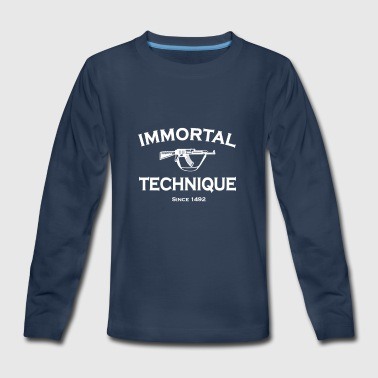 Immortal Technique - Kids' Premium Long Sleeve T-Shirt