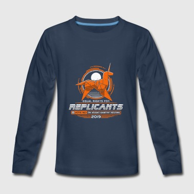 EQUAL RIGHTS FOR REPLICANTS - Kids' Premium Long Sleeve T-Shirt
