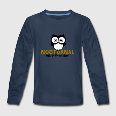 Nocturnal - Kids' Premium Long Sleeve T-Shirt