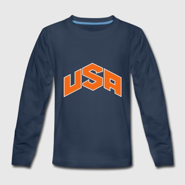 USA Olympics - Kids' Premium Long Sleeve T-Shirt