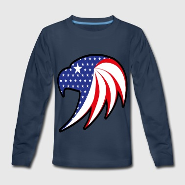 COUNTRY OF THE BRAVE - Kids' Premium Long Sleeve T-Shirt