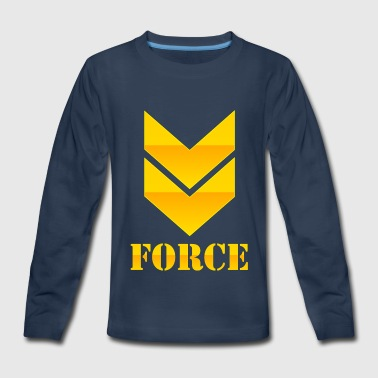 FORCE - Kids' Premium Long Sleeve T-Shirt