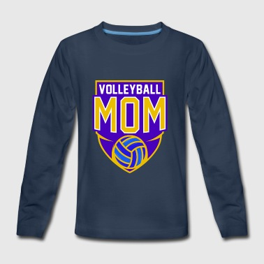 Volleyball Mom Volleyball Player Beach Volleyball - Kids' Premium Long Sleeve T-Shirt