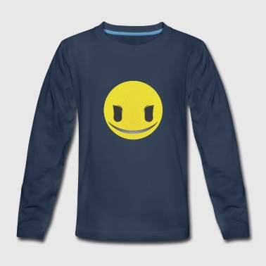 Geek Smiley Smiley - Kids' Premium Long Sleeve T-Shirt