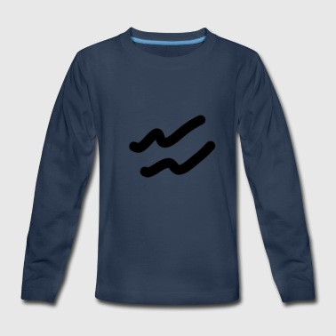 wavey - Kids' Premium Long Sleeve T-Shirt