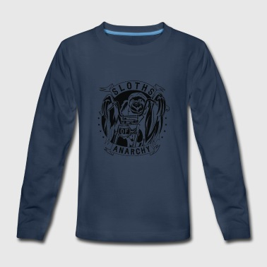 Sloths Of Anarchy - Kids' Premium Long Sleeve T-Shirt
