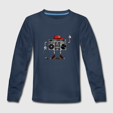 Element Of Hip Hop - Kids' Premium Long Sleeve T-Shirt