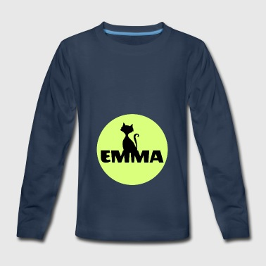 First Name Emma first name - Kids' Premium Long Sleeve T-Shirt