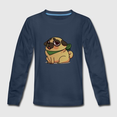 Funny pug cartoon collection 2 - Kids' Premium Long Sleeve T-Shirt
