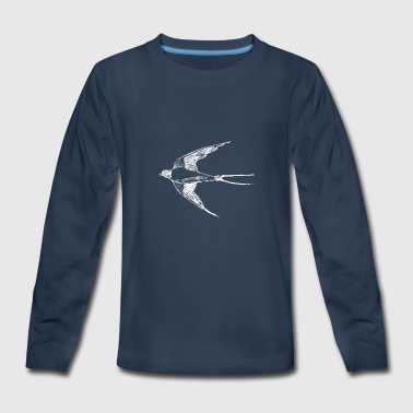 Swallow - Kids' Premium Long Sleeve T-Shirt