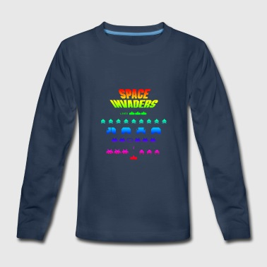 Space Gradient - Kids' Premium Long Sleeve T-Shirt